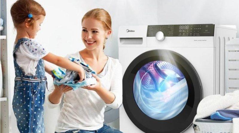 máy giặt diệt khuẩn Media Knight