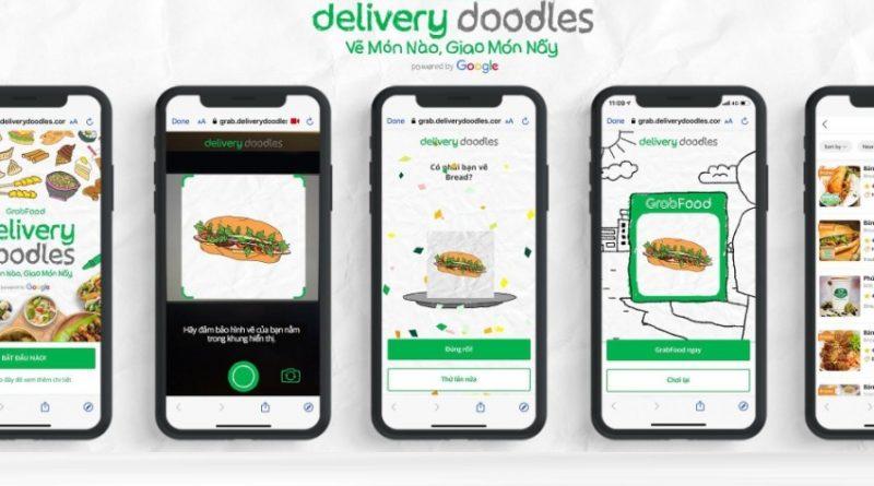 Grab ra mắt Delivery Doodles