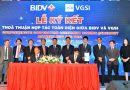 VGSI và BIDV ký hợp tác chiến lược toàn diện
