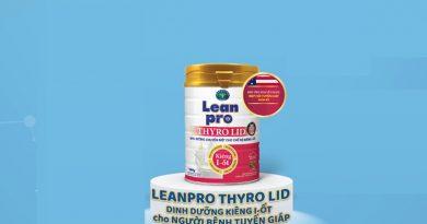 Leanpro Thyro LID chuyên biệt cho người bệnh tuyến giáp