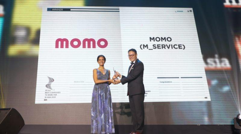 Ví MoMo được vinh danh là một trong những nơi làm việc tốt nhất châu Á năm 2020